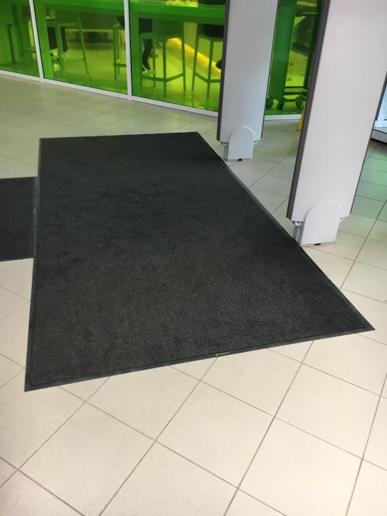 Замена ковров